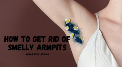 get rid of smelly armpits
